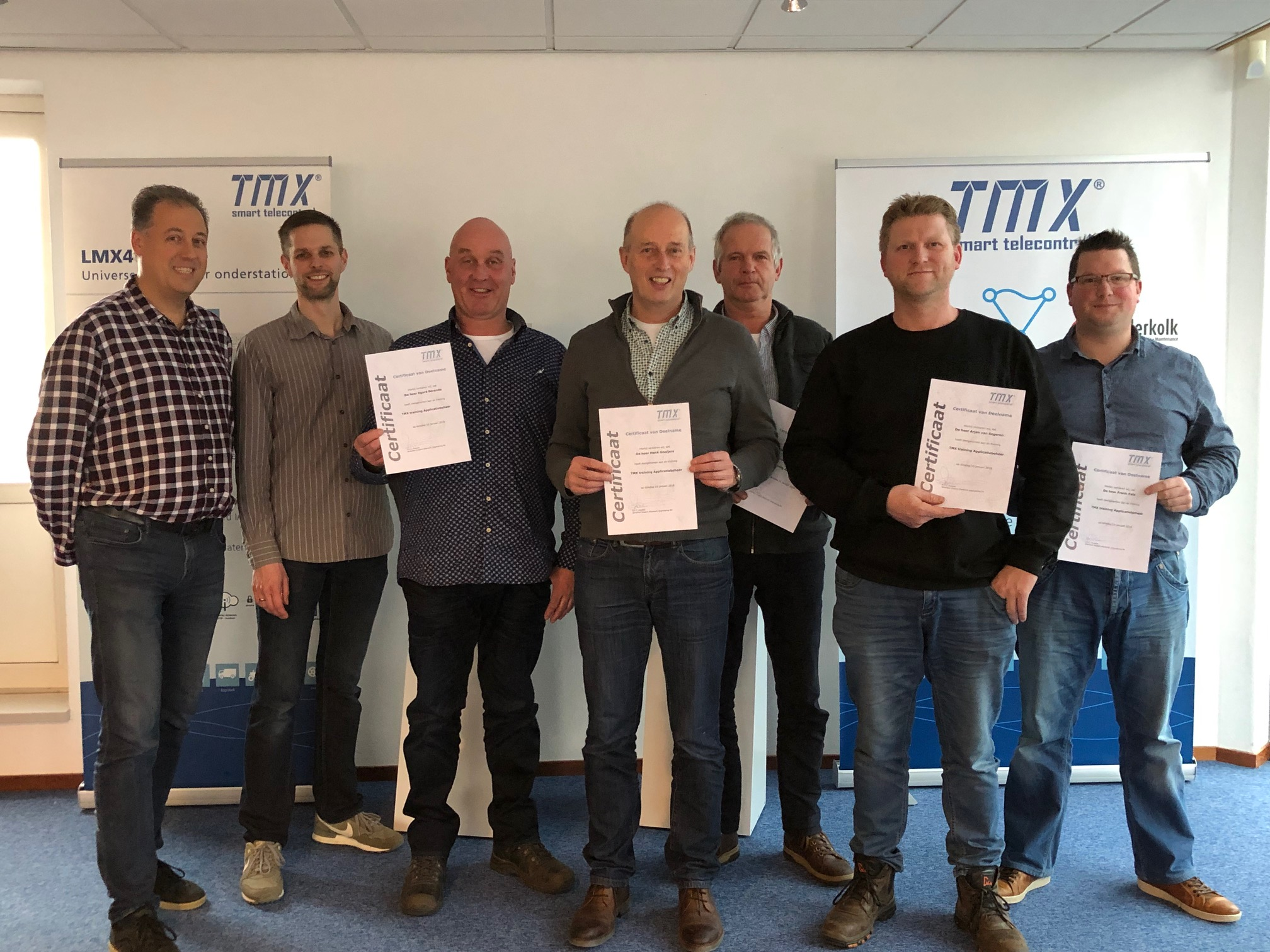 TMX trainingen: optimale mix van theorie en praktijk.