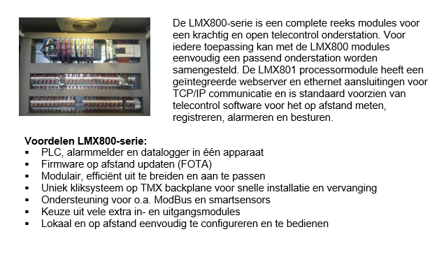 Productinformatie LMX800